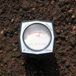 苦土石灰散布1週間でようやくpH値が変化した