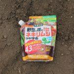ジャガイモのネキリムシ対策としてネキリベイト散布